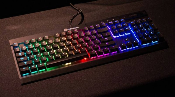 harga Corsair gaming k70 rgb rapidfire ( cherrymx speed black color ) Tokopedia.com