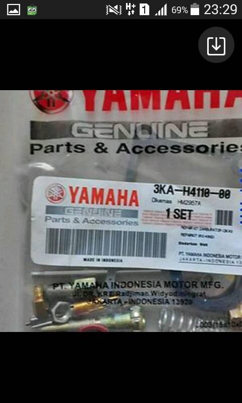 harga Repair kit karbu rx king original Tokopedia.com