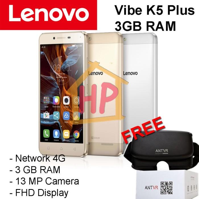 harga Lenovo vibe k5 plus + ant vr (3gb ram fhd) garansi resmi Tokopedia.com