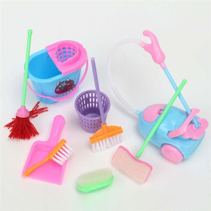 Jual Cleaning Kit Aksesoris Rumah Boneka Barbie Miniature - boneka ... b907519646