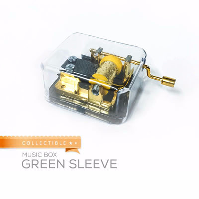 harga Kotak musik / music box impor klasik made in usa green sleeve pox5 Tokopedia.com
