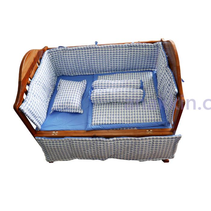 harga Standard bumper set / blue car /bemper box bayi / bedding set murah Tokopedia.com