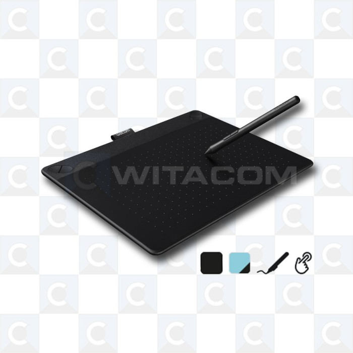harga Wacom cth-690/k0 intuos art pen touch medium - black Tokopedia.com