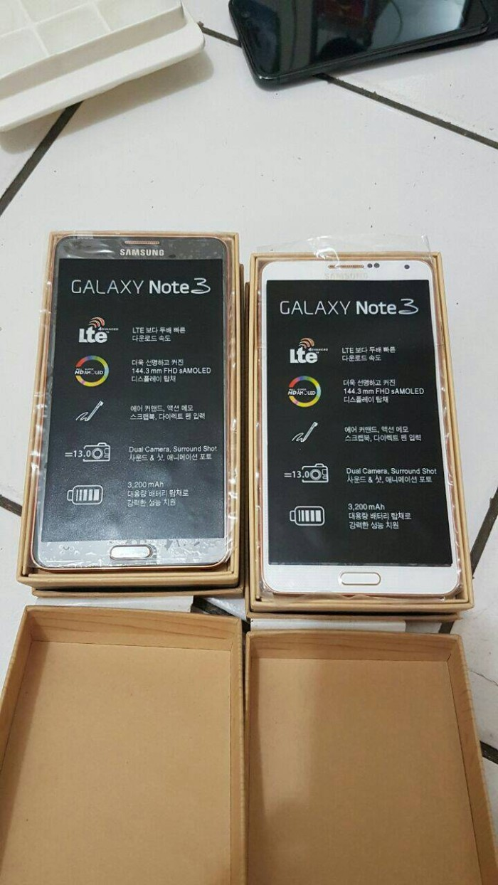 Jual Samsung Galaxy Note 3 4g Lte A Ram 32gb Black White Gold Bnob