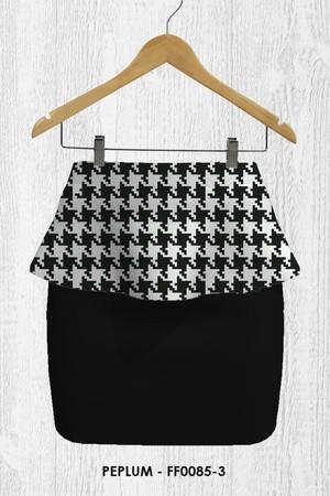 Foto Produk Rok Wanita -Peplum Skirt FF0085-3 dari Adelgio