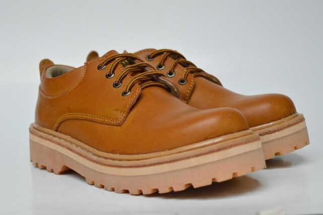 Jual Sepatu Murah Blackmaster Kulit Boots Ujung Besi Pria Original ... efc4bd0669