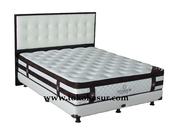 Springbed Central Uk 180x200 Titanium Matras Only