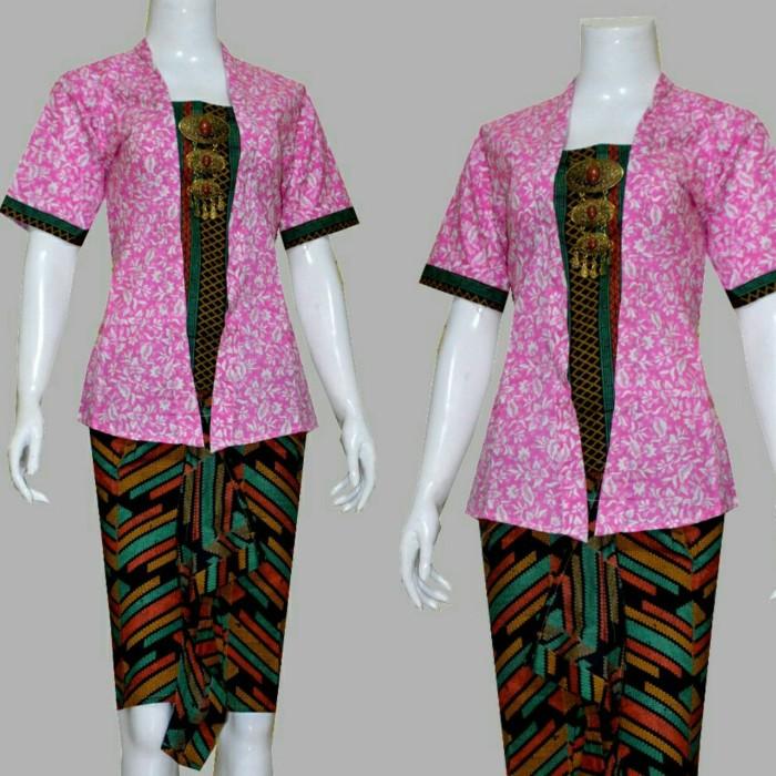 Jual batik wanita setelan rok n blouse batik kebaya batik