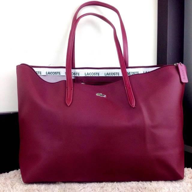 Jual Tas Wanita Tas LACOSTE Classic Tote Bag 0801 - Rame Stall ... 618f6cb9bb
