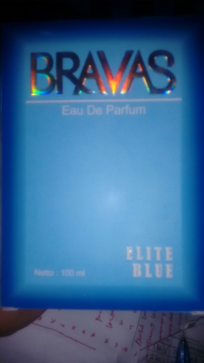 Jual Bravas Elite Blue 100ml Parfum P2bobonlineshopnstore Tokopedia