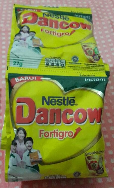 harga Dancow putih per renceng isi 10 sachet Tokopedia.com