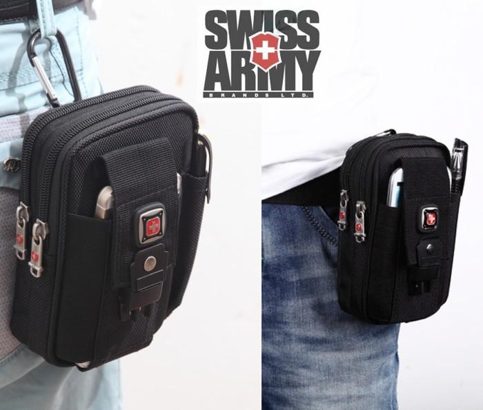 harga Case hp sarung tas pinggang army sport tactical armband carabiner Tokopedia.com
