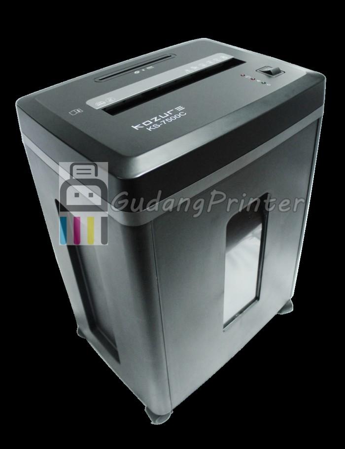 harga Promo kozure murah mesin penghancur kertas ks-7500c (free powerbank) Tokopedia.com