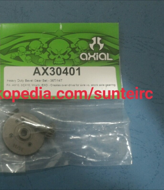 harga Axial heavy duty bevel gear set 36t/14t ax10 Tokopedia.com