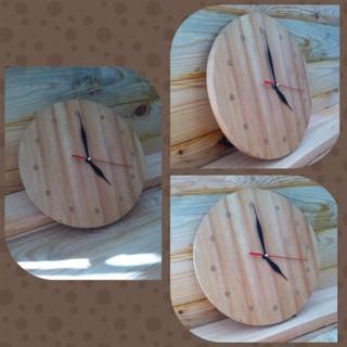 Jual Jam Dinding   Jam Kayu Pinus   Classic - DLapak  76d0093f2c