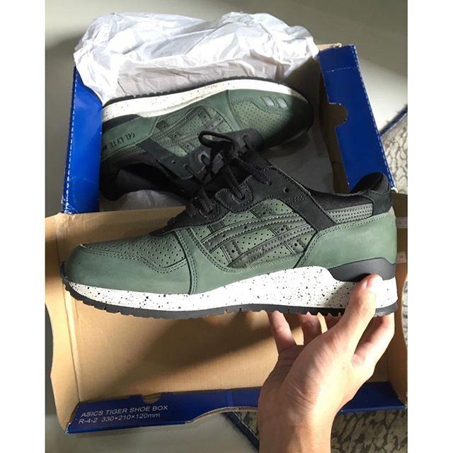 Jual Asics Gel Lyte III After Hours Pack Duffel Bag Green Leather Kota Denpasar SneakersBombs   Tokopedia