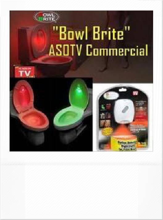 harga Lampu sensor kamar mandi bowl brite sensor kloset lampu Tokopedia.com