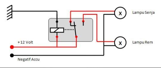 Jual relay kaki 5 12v untuk klakson dan lampu pit stop hobby relay kaki 5 12v untuk klakson dan lampu ccuart Images