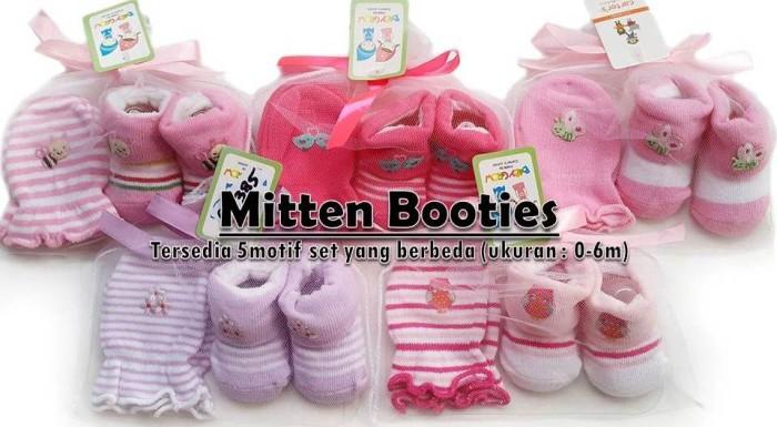 harga Mitten booties set kaos kaki sarung tangan bayi carter Tokopedia.com