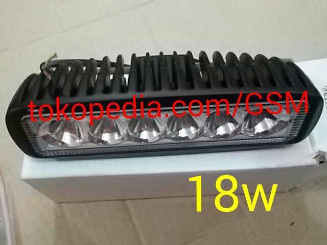 harga Led bar lampu sorot 6 mata tembak offroad drl waterproof motor mobil Tokopedia.com