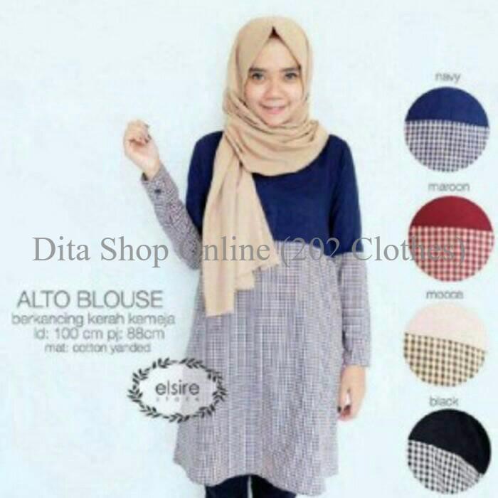 Katalog Atasan Blouse Baju Muslim Hargano.com