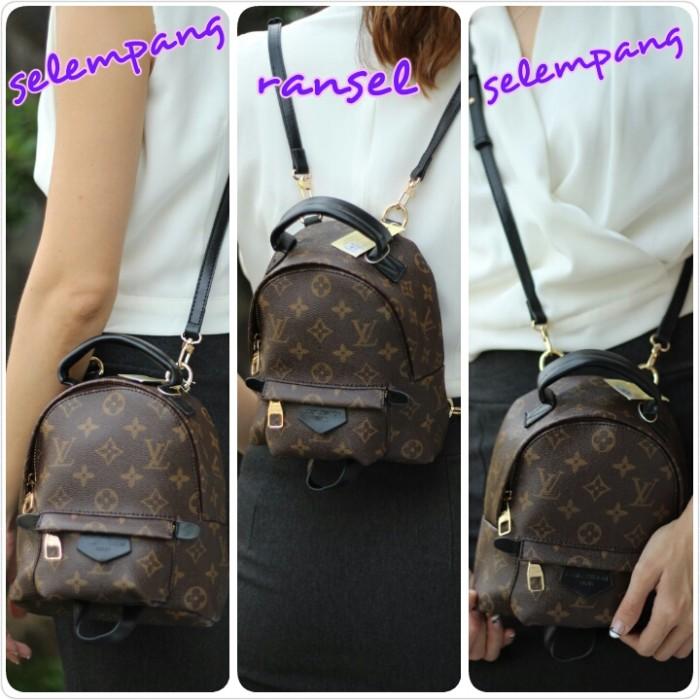 3cf9e9f106a8 Jual Louis Vuittton Palm Spring Backpack Mini - DKI Jakarta ...