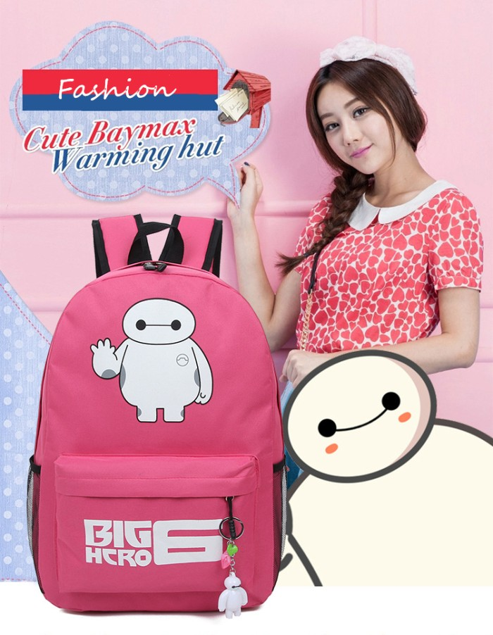 harga Tas ransel cowok cewek baymax big hero fashion korea Tokopedia.com