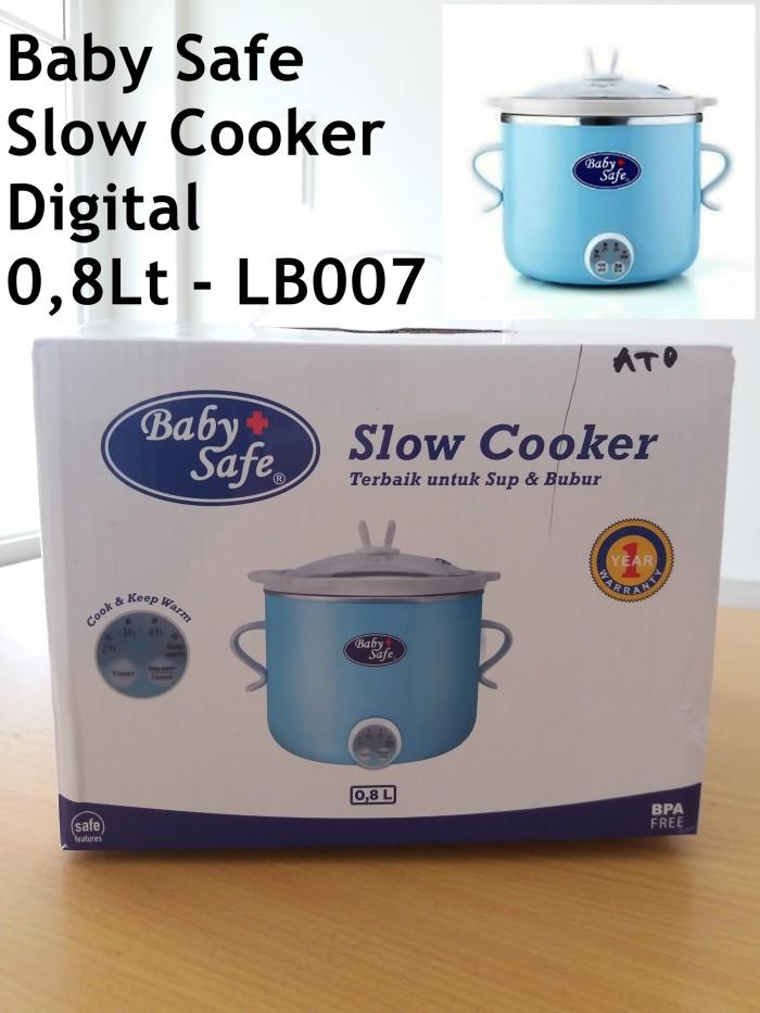 Baby Safe - Slow cooker digital 0,8lt - LB007