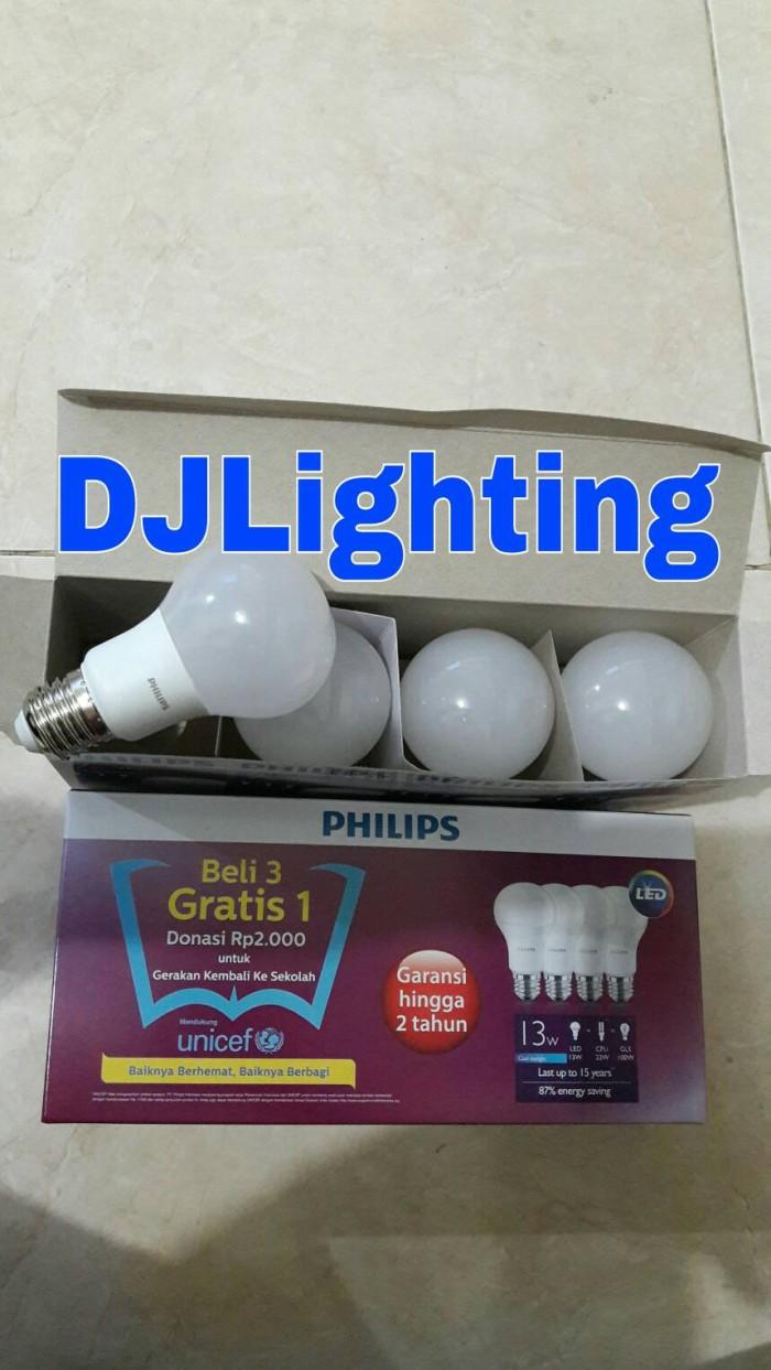 Jual Paket Promo Beli 3 Gratis 1 Lampu Philips Led 13 Watt Bohlam 13w Philip W Bulb 13watt