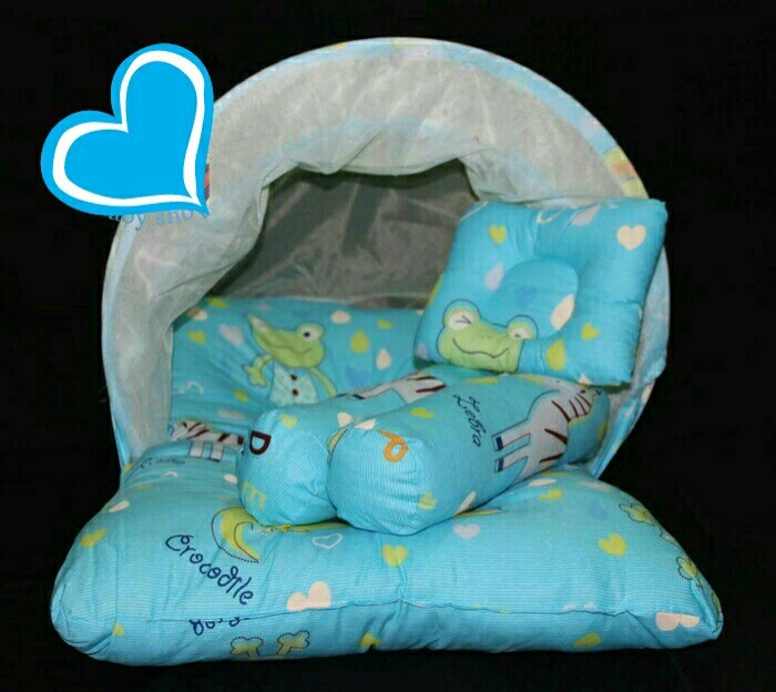 harga Kasur bayi | kasur kelambu | bantal set Tokopedia.com