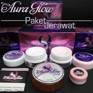 harga Cream aura glow paket acne/ paket jerawat bpom original Tokopedia.com