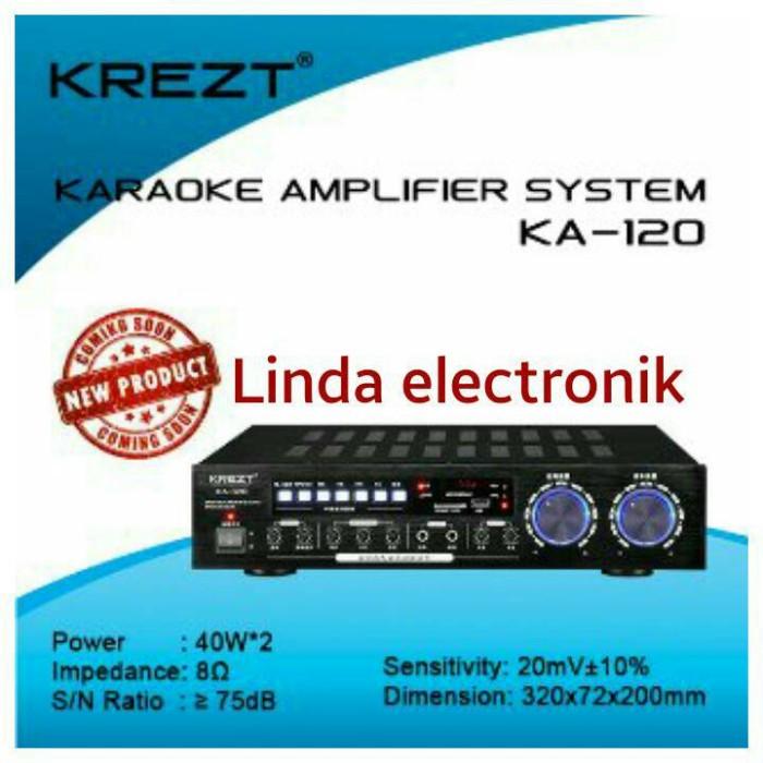 harga Amplifier karaoke system krezt ka 120 Tokopedia.com
