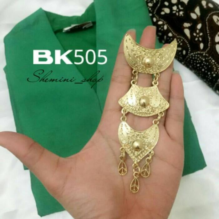 harga Mini bros kebaya kutubaru kode : bk505 gold Tokopedia.com