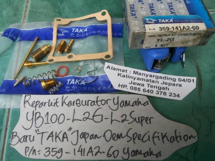 harga Repairkit karburator yamaha yb100-l2g-l2super Tokopedia.com