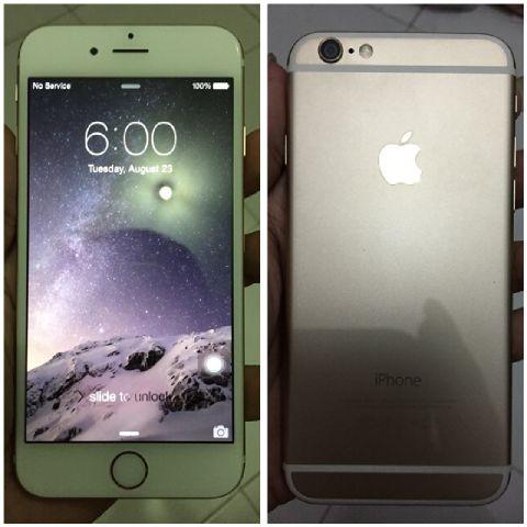 Jual iphone 6 64gb gold fu batangan murah - kidfunstore  918f647fe9
