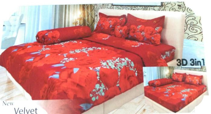 Sprei Ladyrose Red Velvet 180x200 B4