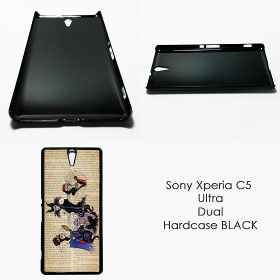 finest selection 837dc 000d6 Jual HARDCASE SONY XPERIA C5 ULTRA CUSTOM CASE MOTIF CASING COVER - BLACK -  Kota Bekasi - Puto Seller | Tokopedia