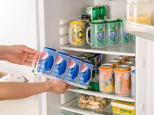harga Rak minuman botol kaleng kulkas organizer kitchen storage box holder Tokopedia.com