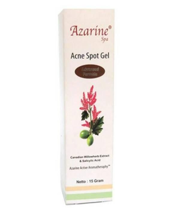 azarine acne spot gel perawatan jerawat