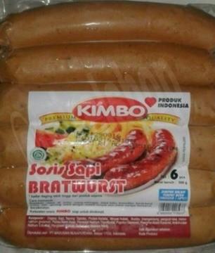 harga Sosis sapi bratwurst / sosis jumbo / sosis kimbo Tokopedia.com