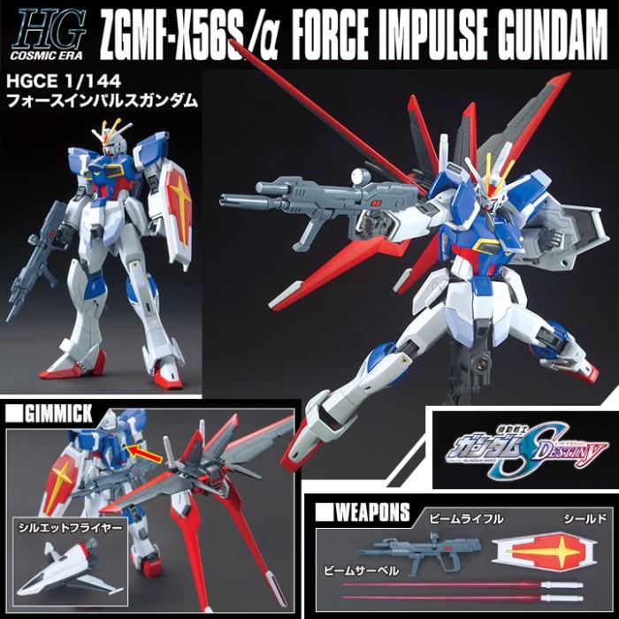 harga Bandai 1/144 hgce hg force impulse gundam Tokopedia.com