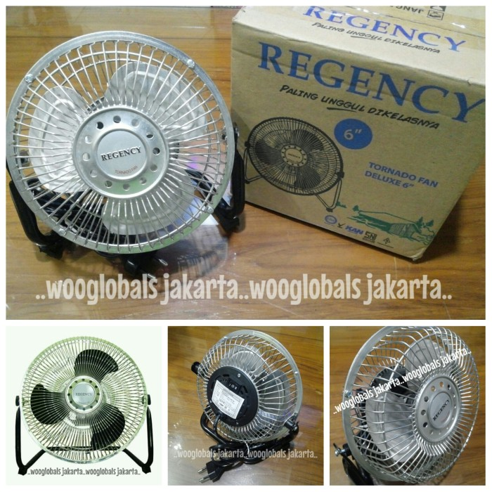 Kipas Angin Floor Fan Regency 6 inch Tornado Fan Deluxe