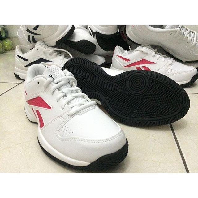 Sepatu Tenis Reebok Court Vision II LP White Blazing 100% Original 1fae9e77b6