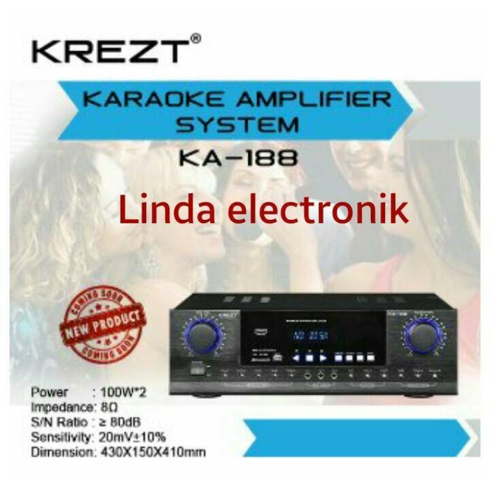 harga Amplifier karaoke system krezt ka 188 Tokopedia.com