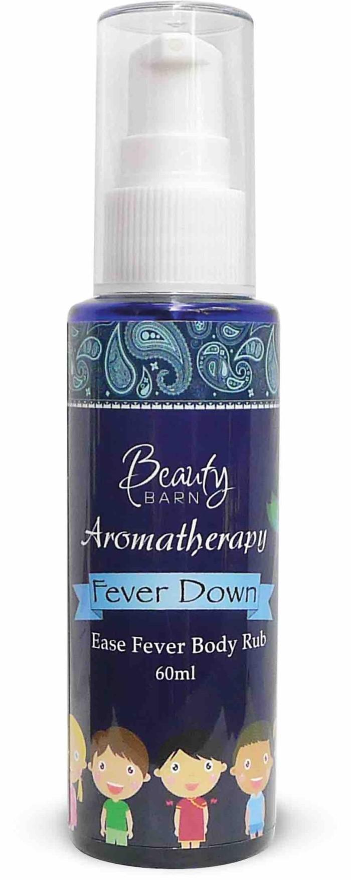 Beauty Barn Fever Down 60ml Daftar Harga Terlengkap Indonesia Aromatherapy Feeve 30ml