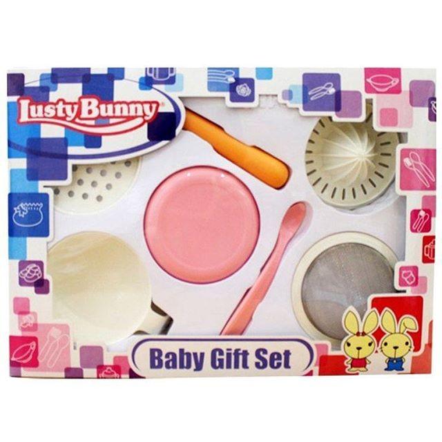 Kelebihan Kekurangan Lusty Bunny Feeding Set Isi 5 Warna Biru Source · LUSTY BUNNY BABY GIFT