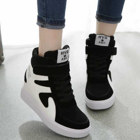Jual Boots Sneaker Hitam putih SKL63