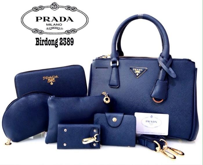Tas Import Prada Saviano Hitam - Beli Harga Murah 46f7e78ccf