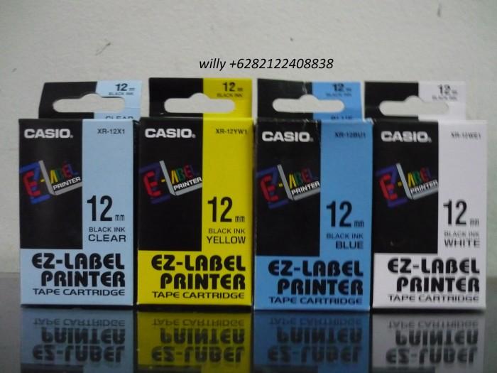 Casio EZ-Label Tape Cartridge 12 mm