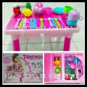 Jual Mainan Anak Tableware Termasuk Mainan Masak Masakan 29 Pcs 7709a Kota Bandung Fgs Team Online Tokopedia